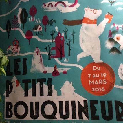 L'affiche du festival, dessinée par Julia Wauters