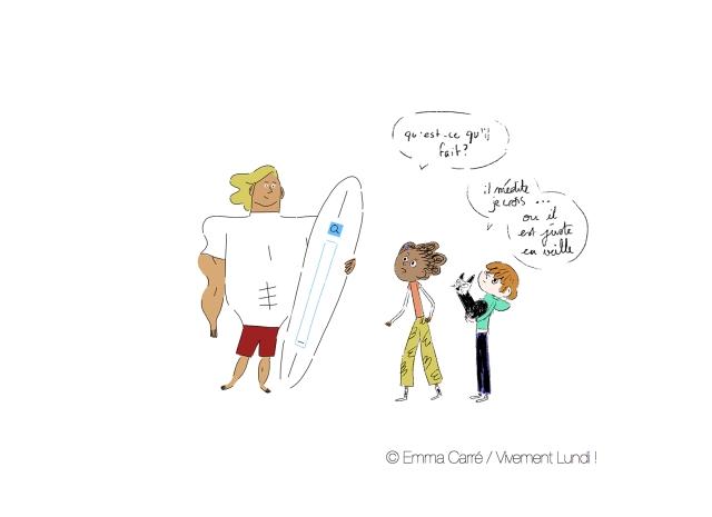 Mitzi, Noah et Lolcat rencontrent le Surfer de la toile
