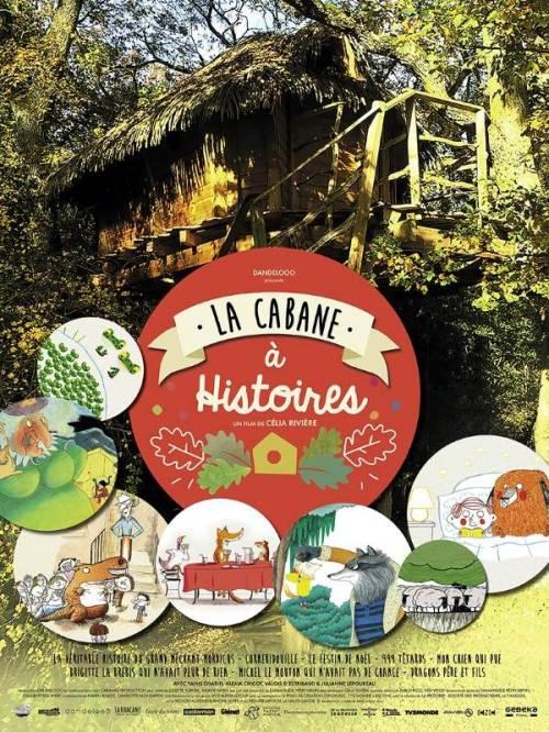 La cabane à histoires, Affiche